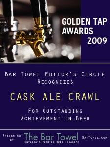 GTA Award_caskcrawl