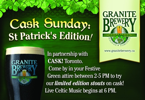 Granite St Patricks Cask Sunday