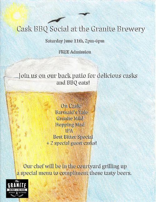 Granite BBQ and Social June 11th 2016
