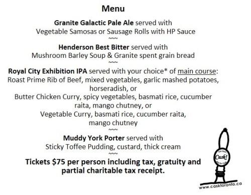 st g menu